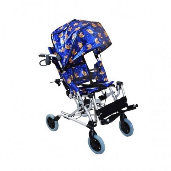 Детская инвалидная коляска Амрос AMWC18FA-EL для детей с ДЦП