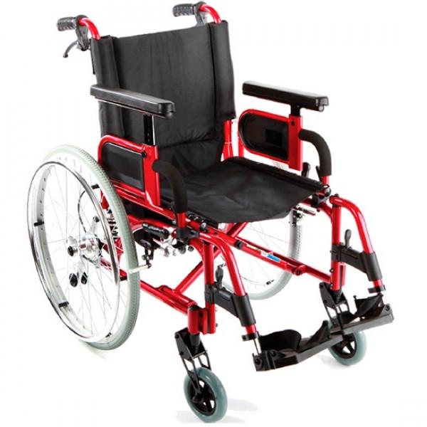 Кресло-коляска Симс-2 7018A0603PU/J облегченная