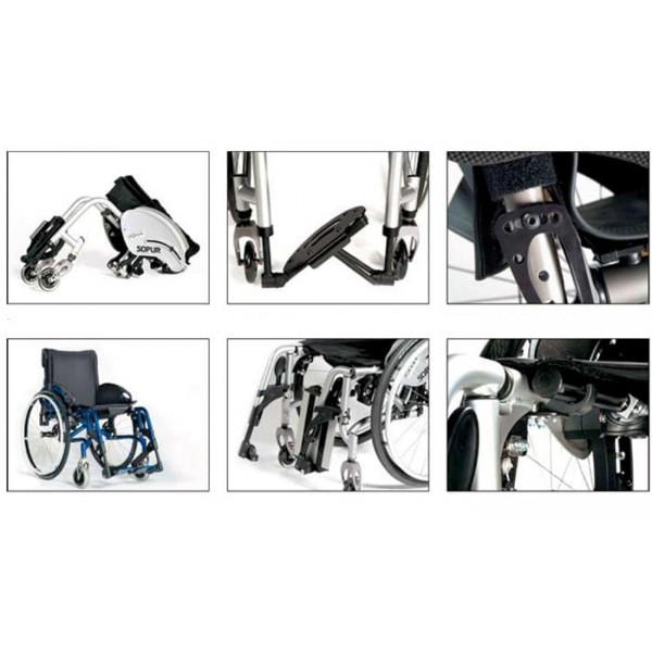 Кресло-коляска Titan Sopur Neon LY-710-054000