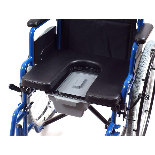Кресло-коляска Ortonica TU 55 с санитарным оснащением