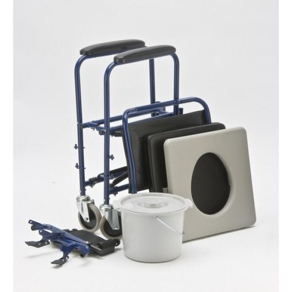 Кресло-каталка Armed H009B с санитарным оснащением