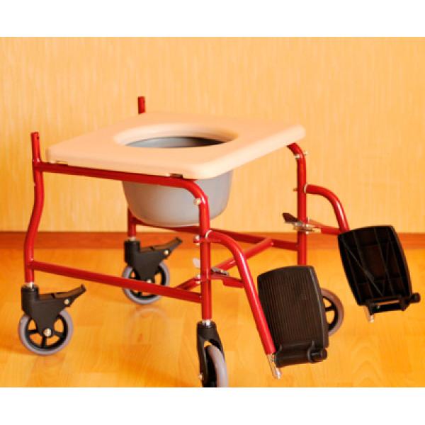 Кресло-каталка Мега Оптим FS692-45 c санитарным оснащением