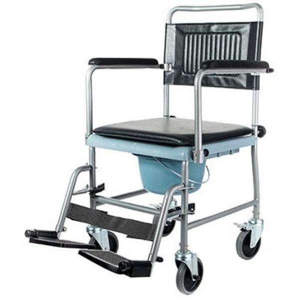 Кресло-каталка Симс-2 5019W2P с санитарным оснащением